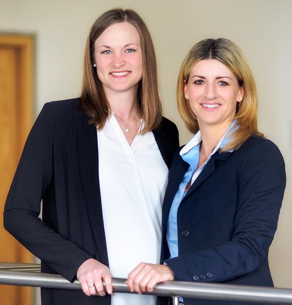 Franziska Hannig und Vanessa Senft