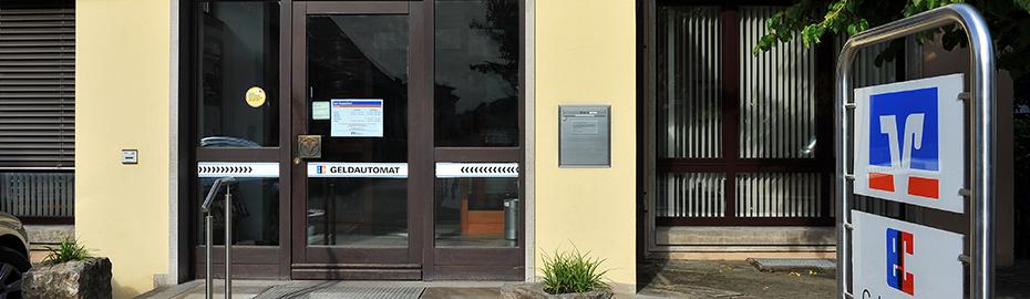 VR Bank Kitzingen eG, Geschäftsstelle Albertshofen, Neubaustr. 18, 97320 Albertshofen