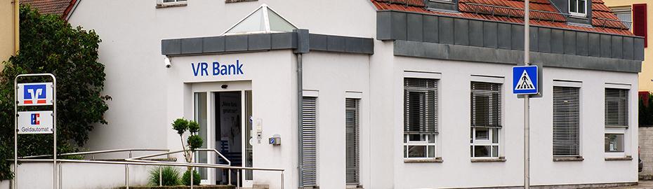 VR Bank Kitzingen eG, Geschäftsstelle KT-Siedlung, Königsberger Str. 15a, 97318 Kitzingen