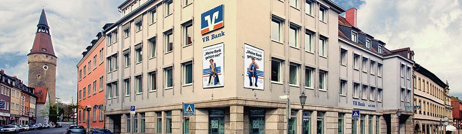 VR Bank Kitzingen eG, Hauptstelle, Luitpoldstr. 14, 97318 Kitzingen