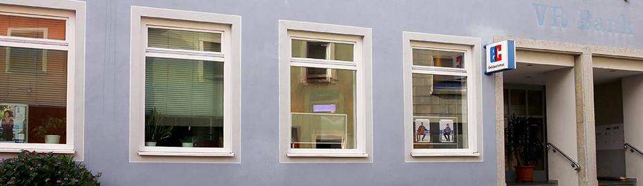 VR Bank Kitzingen eG, Geschäftsstelle Marktbreit, Lange Gasse 2, 97340 Marktbreit